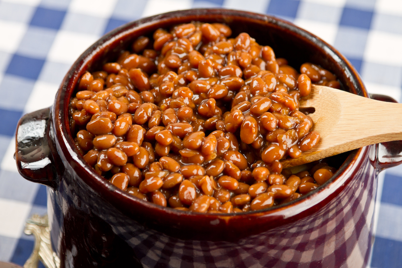Photo of delicious Fareway side dish, baked beans.