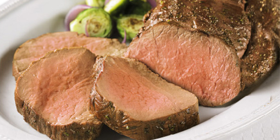 Photo of whole beef tenderloin