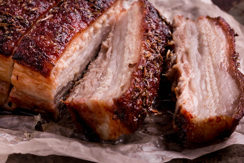 DUROC Pork Belly 4 - 5 lbs.